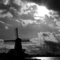 Windmill in Zaanse Schans - Holland