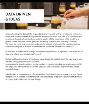 Data Driven & Ideas
